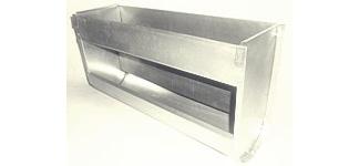 Кормушка для кролика Односекционная, без крышки, шириной 45см, объем 6,4 литра.