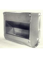 Бункерная навесная кормушка для кроликов Ширина 250мм. Без крышки.