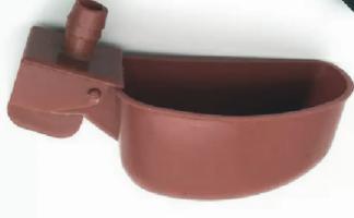Поилка для перепелов- автоматическая, чашечного типа.