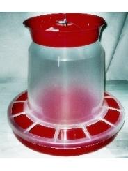 Бункерная кормушка для птицы, объем 10 литров