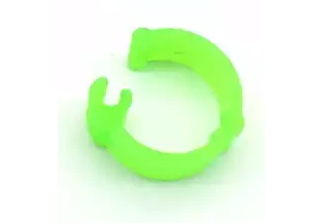 Меточное кольцо для птиц. Диаметр 9мм. Цвет зеленый