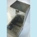 Бункерная кормушка- сапожек для кроликов  шириной 12,5 см. - без крышки
